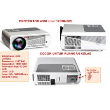 Proyektor LED86+ 4500L, Res. 12800*800