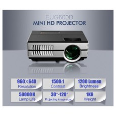 Mini Proyektor  960x640/1500Lumens