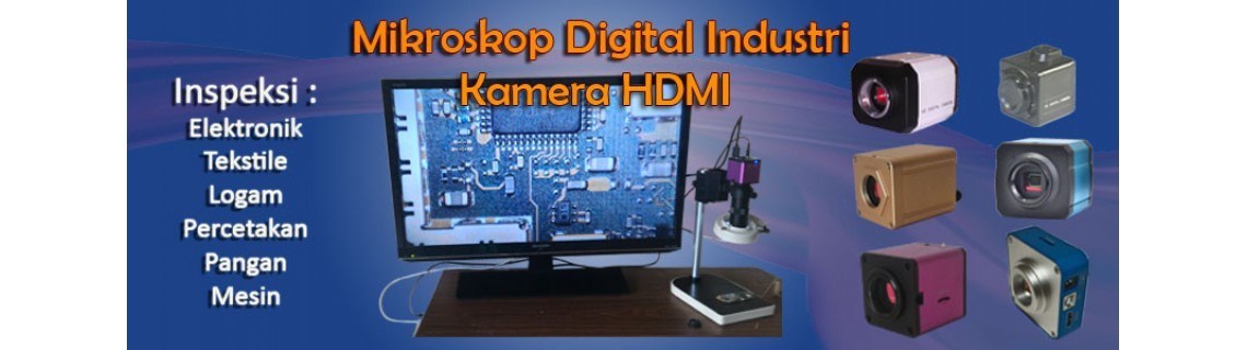 Mikroskop Digital Industri