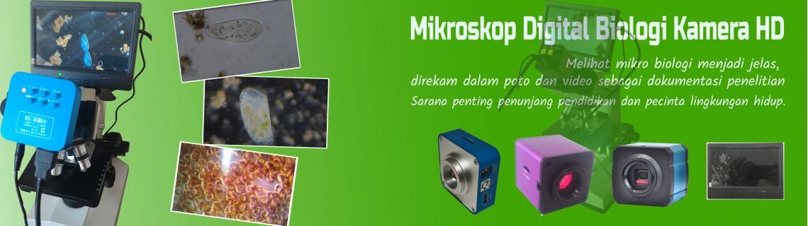 Mikroskop Digital Biologi Kamera HD