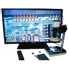 Mikroskop Digital VGA/AV/USB untuk industri elektronik